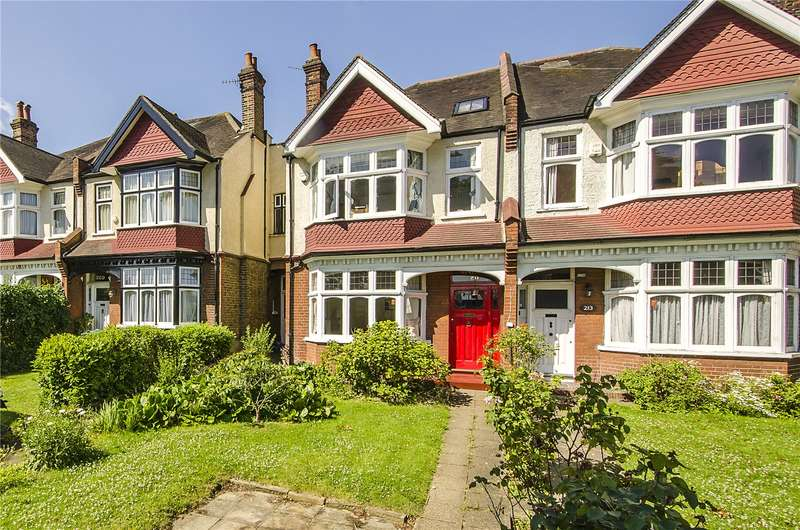 4 Bedrooms Semi Detached House for sale in Rosendale Road, London, SE21