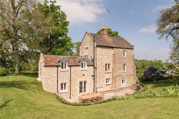 4 Bedrooms Detached House for sale in Matsford Lodge, Tellisford, Near Bath, Somerset