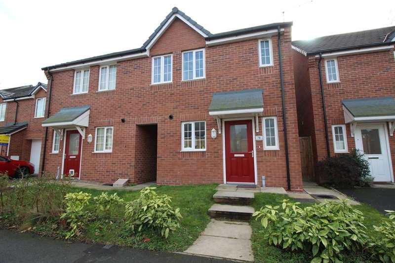 3 Bedrooms Semi Detached House for sale in Bakewell Drive, Nottingham, NG5