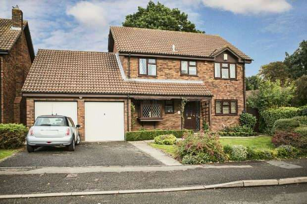 4 Bedrooms Detached House for sale in Westminster Way, Lower Earley, Reading