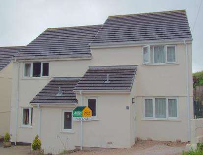 3 Bedrooms Semi Detached House for sale in Crinnicks Hill, Bodmin, Cornwall