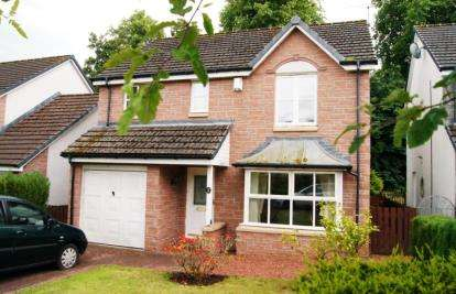 4 Bedrooms Detached House for sale in Kelvin Gardens, Largs