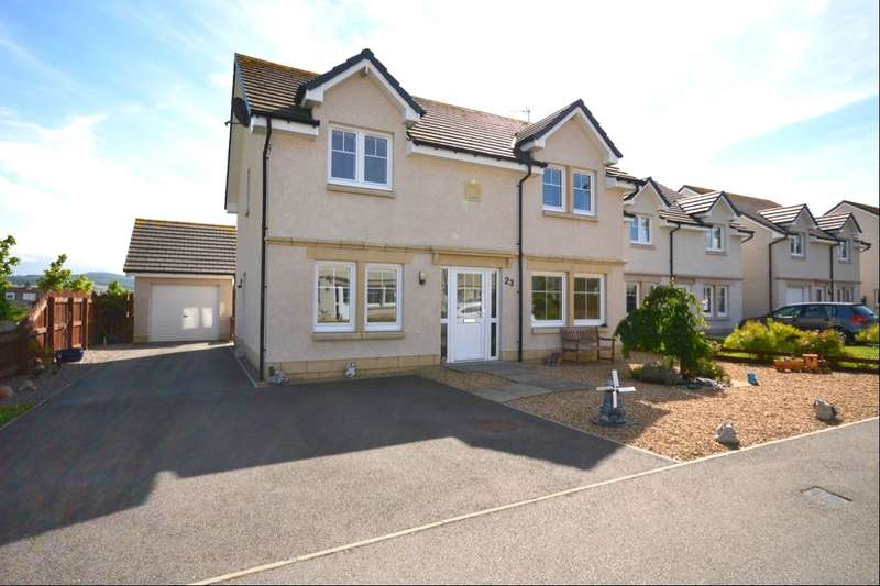 4 Bedrooms Detached House for sale in First Field Avenue, North Kessock, Inverness, IV1
