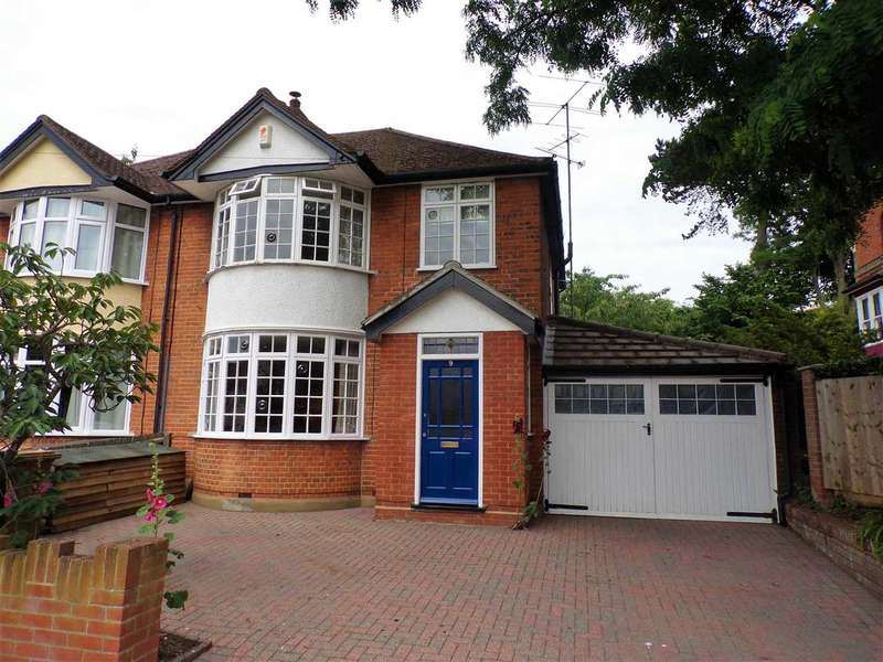 3 Bedrooms Semi Detached House for sale in St. Johns Road, Ipswich