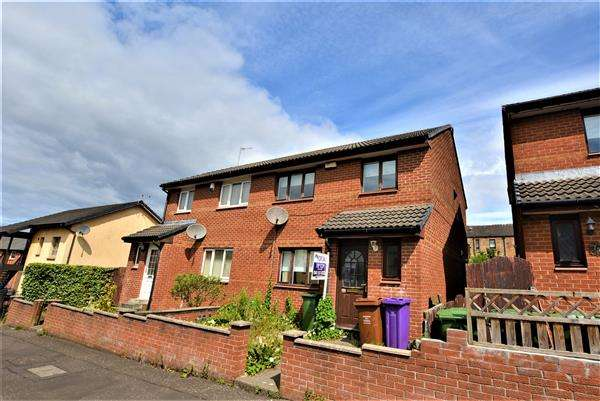 3 Bedrooms Semi Detached House for sale in Dalton Street, Glasgow