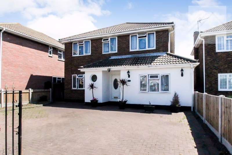 5 Bedrooms Detached House for sale in Furtherwick Road, Canvey Island - STONES THROW TO THE BEACH