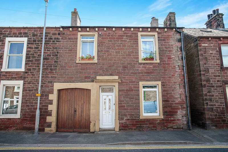 3 Bedrooms Semi Detached House for sale in Lawson Street, Aspatria, CA7