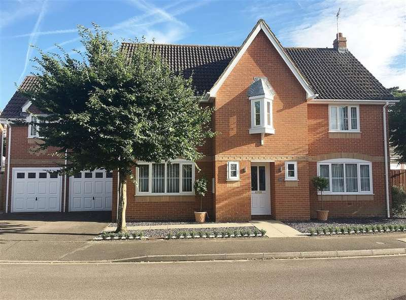 5 Bedrooms Detached House for sale in Willow Lane, Milton, Abingdon, OX14