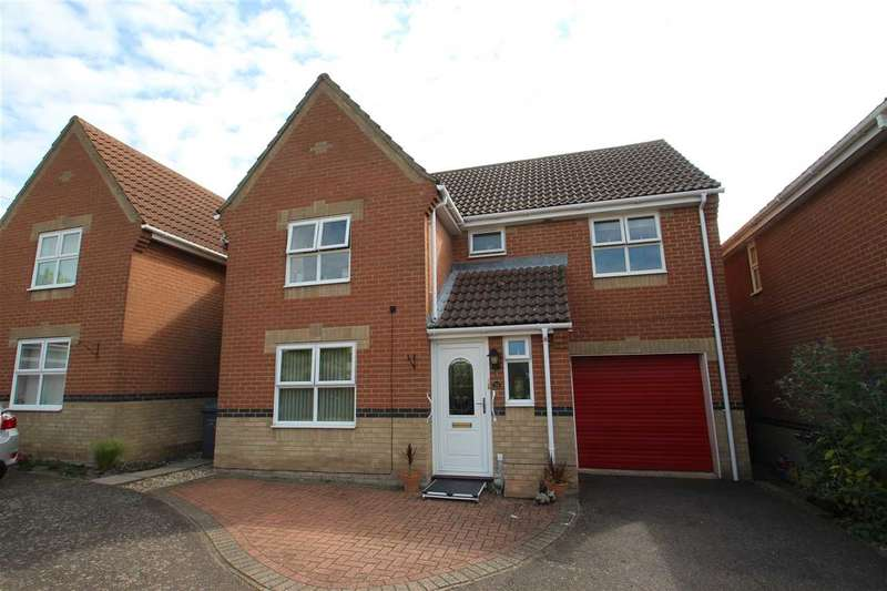 4 Bedrooms Detached House for sale in Mannall Walk, Grange Farm, Kesgrave, Ipswich