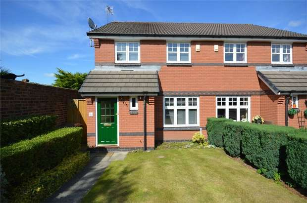 3 Bedrooms Semi Detached House for sale in Apsley Grove, Bebington, Merseyside
