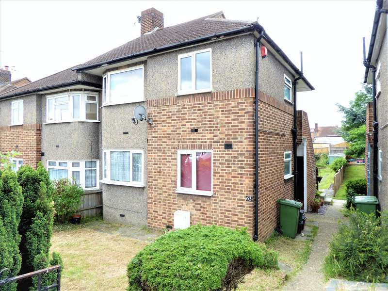 2 Bedrooms Maisonette Flat for sale in Downbank Avenue, Barnehurst, Kent, DA7 6RT