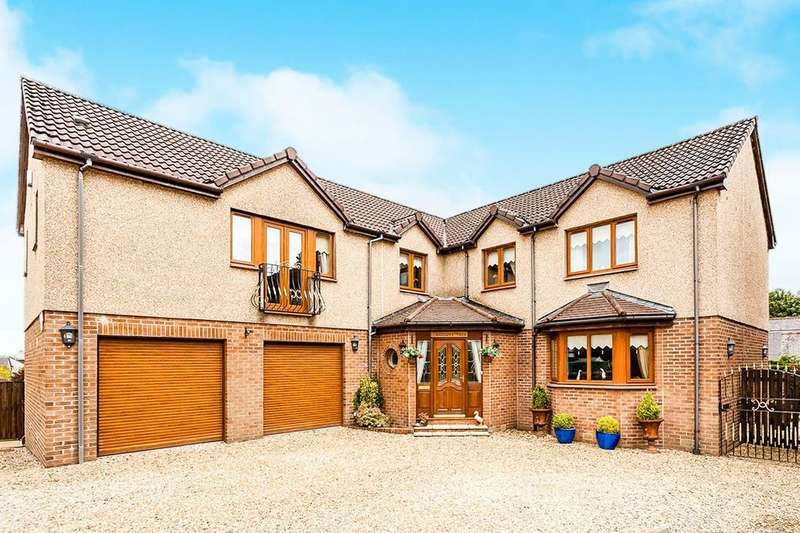 5 Bedrooms Detached House for sale in Glasgow Road, Longcroft, FK4