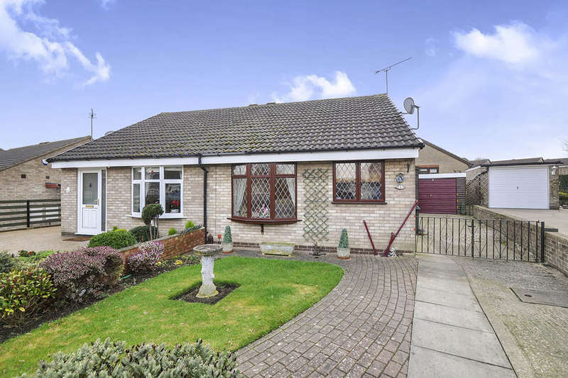 2 Bedrooms Semi Detached Bungalow for sale in Kingfisher Rise, Thorpe Hesley, Rotherham, S61