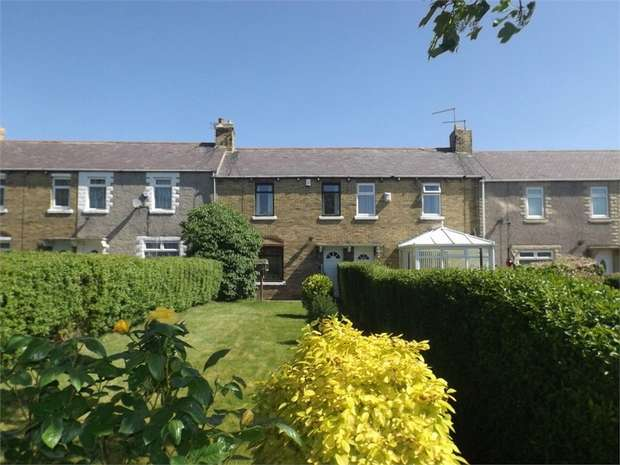 2 Bedrooms Terraced House for sale in Dalton Avenue, Lynemouth, Morpeth, Northumberland