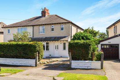 3 Bedrooms Semi Detached House for sale in Bowfell Avenue, Morecambe, Lancashire, United Kingdom, LA4