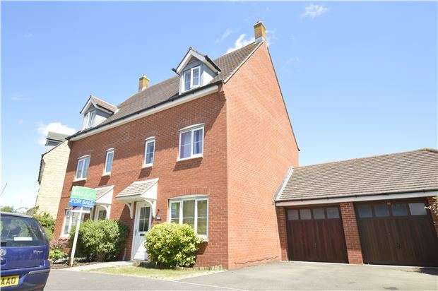 3 Bedrooms Semi Detached House for sale in Greenacre Way, Bishops Cleeve, GL52 8SJ