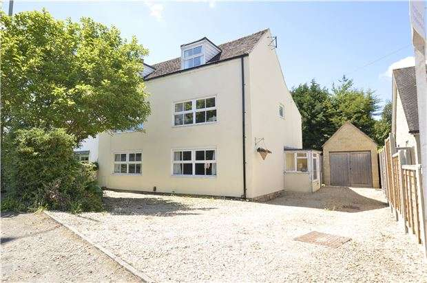 4 Bedrooms Semi Detached House for sale in Evesham Road, Bishops Cleeve, CHELTENHAM, Gloucestershire, GL52 8SA