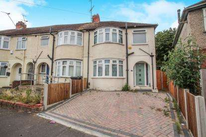 3 Bedrooms End Of Terrace House for sale in Shelley Road, Luton, Bedfordshire, England
