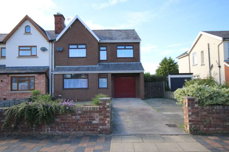 4 Bedrooms Semi Detached House for sale in Sunny Road, Churchtown, Southport