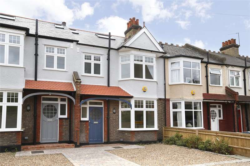 4 Bedrooms Terraced House for sale in Salisbury Gardens, London, SW19