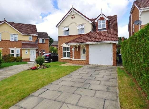 3 Bedrooms Detached House for sale in Barbondale Close, Great Sankey, Warrington