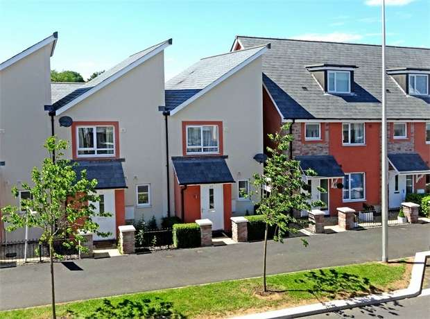 2 Bedrooms End Of Terrace House for sale in Younghayes Road, Cranbrook, EXETER, Devon