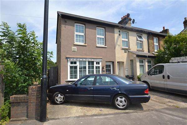 2 Bedrooms End Of Terrace House for sale in Hawthorne Villas, Faggs Road, Bedfont