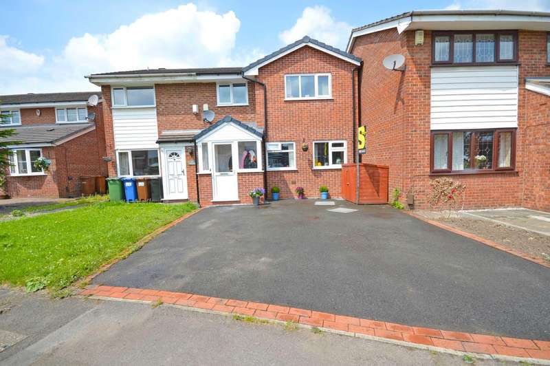 3 Bedrooms Semi Detached House for sale in Long Croft Lane, Cheadle Hulme