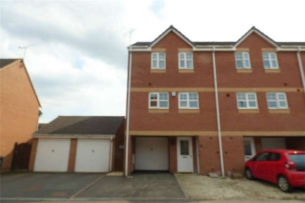 4 Bedrooms End Of Terrace House for sale in Water Lily Way, Bermuda Park, Nuneaton, Warwickshire