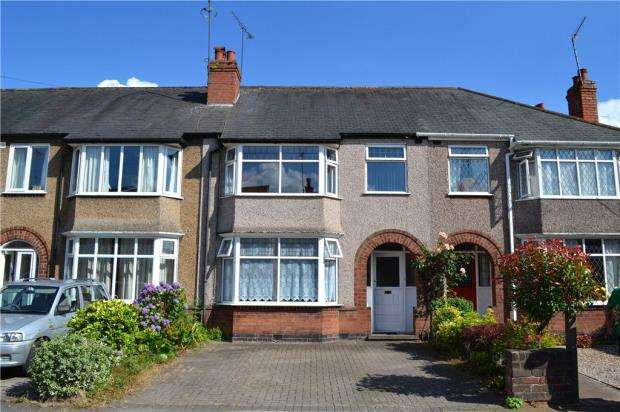 3 Bedrooms Terraced House for sale in Gregory Avenue, Styvechale, Coventry, West Midlands