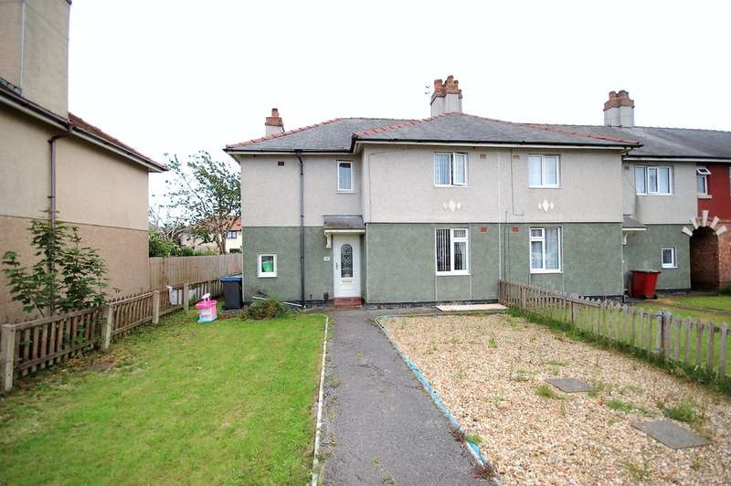 3 Bedrooms End Of Terrace House for sale in Powell Avenue, Blackpool