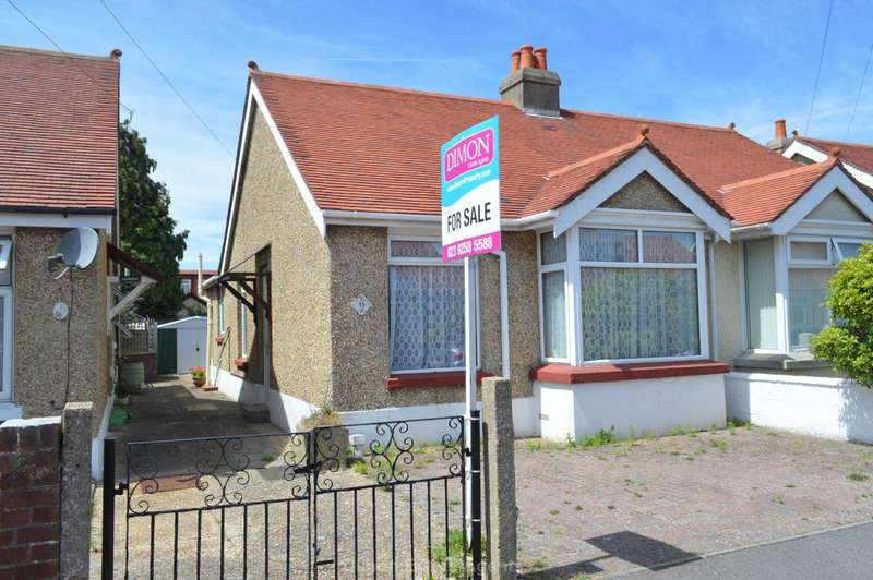 2 Bedrooms Semi Detached Bungalow for sale in Arundel Road, Gosport