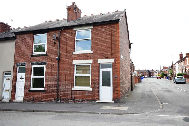 2 Bedrooms End Of Terrace House for sale in Andrew Avenue, Ilkeston