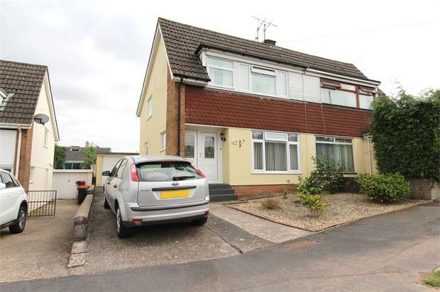 3 Bedrooms Semi Detached House for sale in Northfield Close, Caerleon, NEWPORT