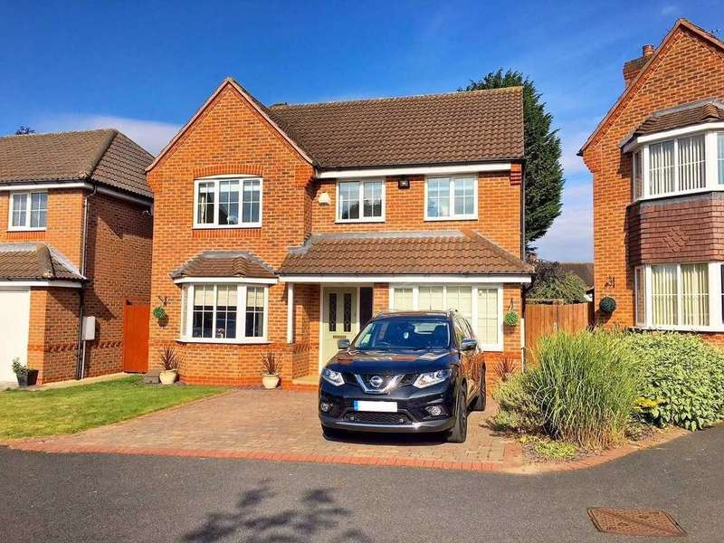 4 Bedrooms Detached House for sale in DAVID HARMAN DRIVE, WEST BROMWICH, WEST MIDLANDS, B71 3RH