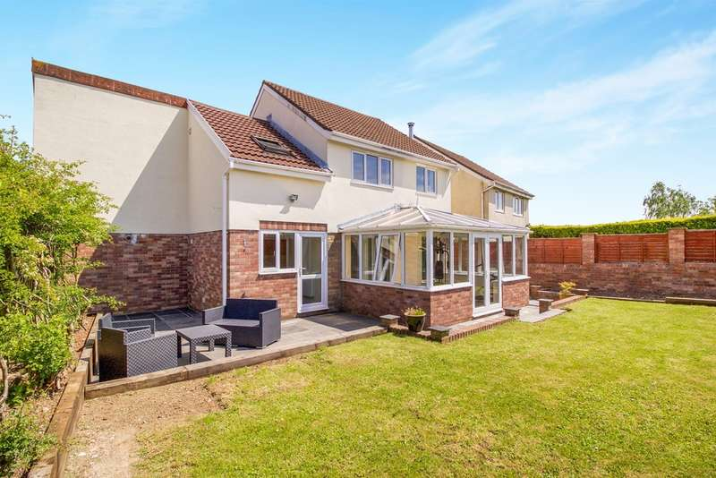 4 Bedrooms Detached House for sale in Ffordd Y Parc, Bridgend