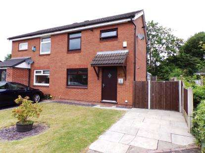 2 Bedrooms Semi Detached House for sale in Birchall Green, Woodley, Stockport, Greater Manchester