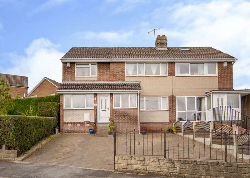 3 Bedrooms Semi Detached House for sale in 24 Everard Avenue, Bradway, S17 4LZ