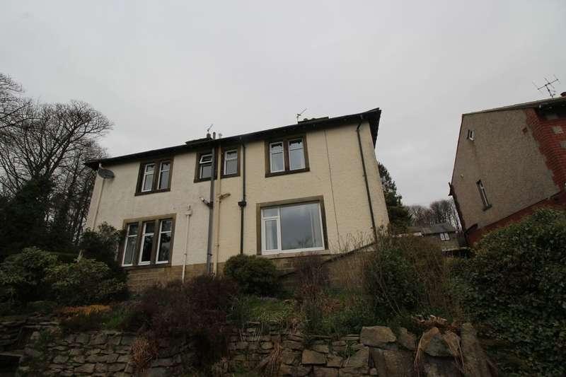 3 Bedrooms Semi Detached House for sale in Slaymaker Lane, Oakworth, Keighley, BD22