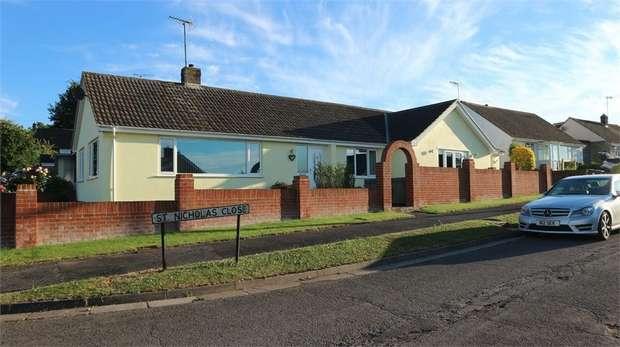3 Bedrooms Detached Bungalow for sale in St Nicholas Close, Wilton, Salisbury, Wiltshire