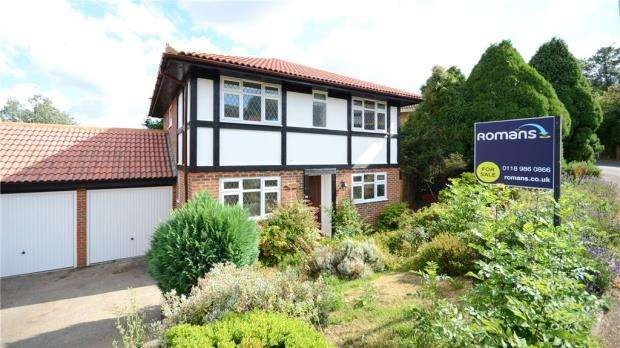 4 Bedrooms Link Detached House for sale in Ryhill Way, Lower Earley, Reading