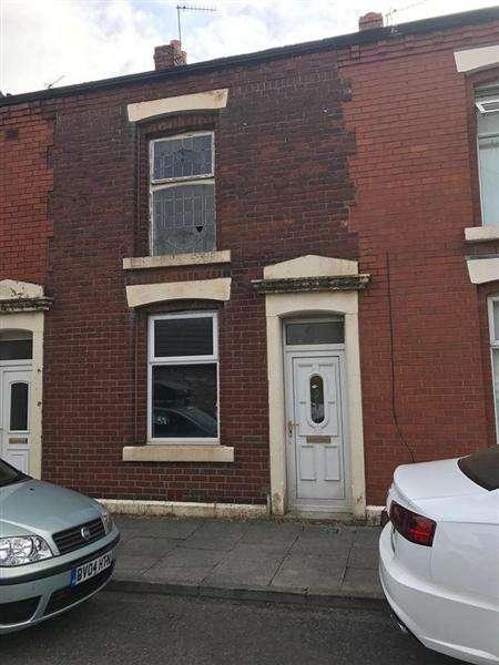 2 Bedrooms Terraced House for sale in Norfolk Street, Mill Hill, Blackburn