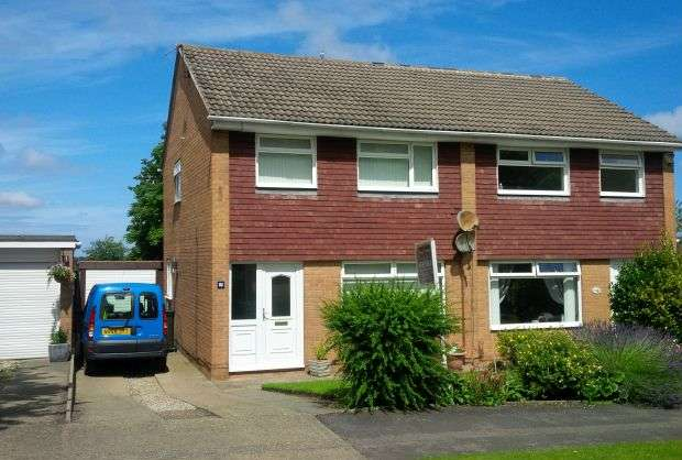 3 Bedrooms Semi Detached House for sale in Enfield Chase, Hunters Hill, Guisborough