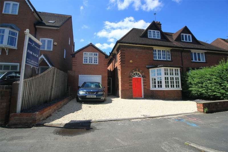 6 Bedrooms Semi Detached House for sale in Wentworth Road, Harborne, West Midlands