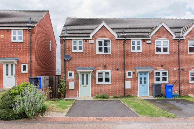 3 Bedrooms End Of Terrace House for sale in Myrtle Close, Heeley, Sheffield, S2
