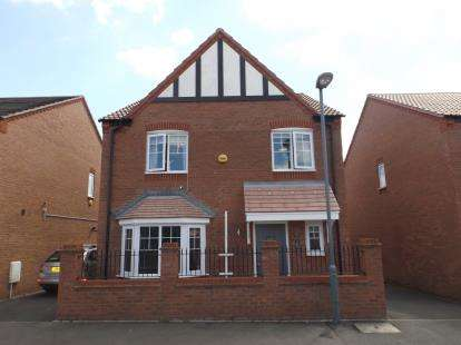 4 Bedrooms Detached House for sale in Bartley Crescent, Northfield, Birmingham, West Midlands