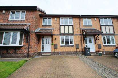 3 Bedrooms Terraced House for sale in Mitton Close, Blackburn, Lancashire, BB2