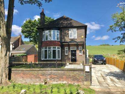 3 Bedrooms Detached House for sale in Wakefield Road, Heyrod, Stalybridge, Greater Manchester