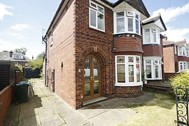 3 Bedrooms Semi Detached House for sale in HAREWOOD ROAD, DONCASTER, South Yorkshire, DN2