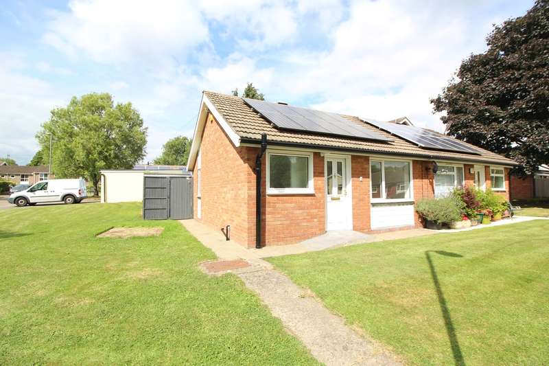 1 Bedroom Semi Detached Bungalow for sale in Llwynu Lane, Abergavenny, NP7